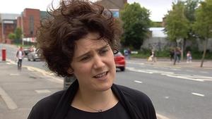 Clare Hanna argued against the partnership with Fianna Fáil