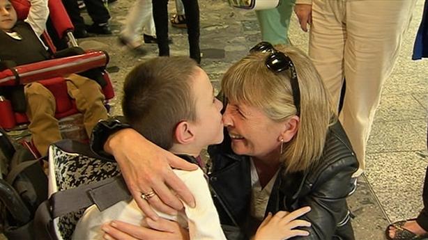 Warm welcome as 150 children from Chernobyl visit Ireland