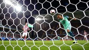 Ricardo Quaresma heads Portugal into the quarter-finals at Euro 2016
