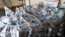 The drugs were seized at Rosslare Port today