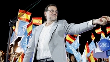 Caretaker Prime Minister Mariano Rajoy is the leader of the conservative People's Party