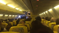 Pilot joins in on craic with fans on Lyon flight