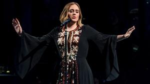 Adele takes flight at Glastonbury on Saturday night