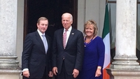 Biden attends lunch with Kenny on last day of trip