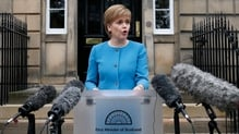 Asked whether she would consider asking the Scottish parliament to block a motion of legislative consent, Nicola Sturgeon said: 'Of course'