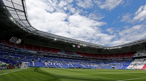 The Stade des Lumieres in Lyon was the venue for Republic of Ireland v France