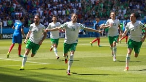 Over 1.2 million people watch Robbie Brady score against France