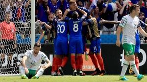Griezmann puts France ahead