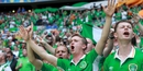 The mayor said Irish fans distinguished themselves by the atmosphere they created