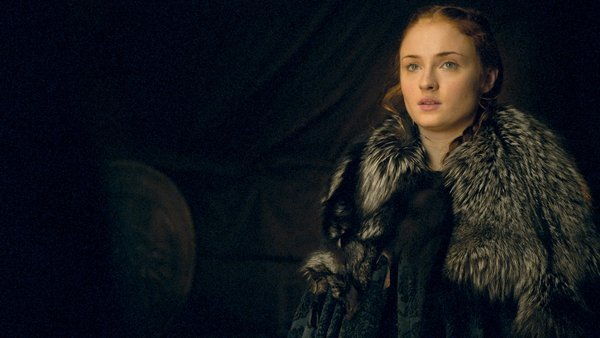 Sansa's facial expression sums up our feeling on the delay
