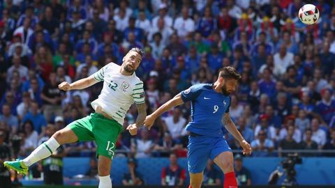 Full match: France v Republic of Ireland