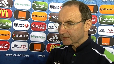 Martin O'Neill v France Interview
