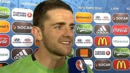Robbie Brady v France Interview