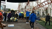 Six One News Web: A rollercoaster carriage at Scottish theme park comes off its rails
