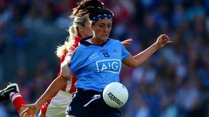 Niamh McEvoy helped Dublin past Meath
