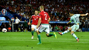 Eden Hazard lit up the stage against Hungary