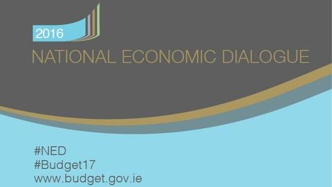 National Economic Dialogue - Tuesday (part 1)