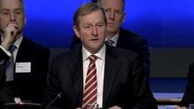An Taoiseach ag fóram eacnamaíochta i gCaisleán Bhaile Átha Cliath