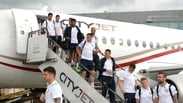 Heroes' welcome for Republic of Ireland team