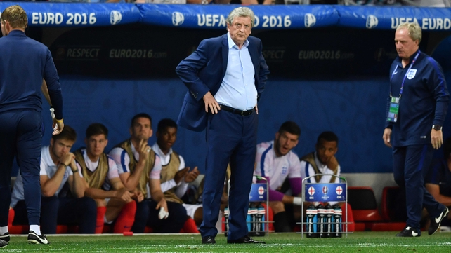 Roy Hodgson resigns in the wake of England defeat