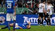 Germany beat Italy 4-1 in a  friendly in Munich last March