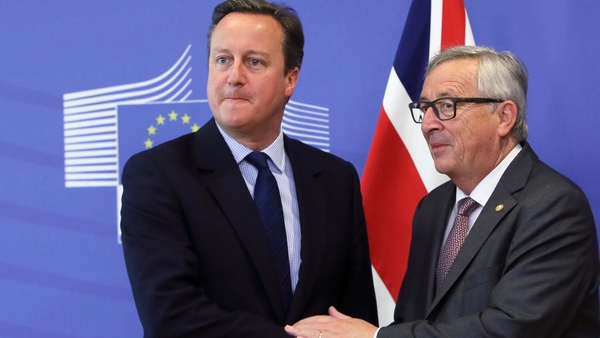 Jean-Claude Juncker (R) and David Cameron (L) were European Commission president and British prime minister, respectively, when the UK voted to leave the EU