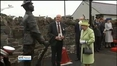 One News Web: Britain's Queen Elizabeth and Duke of Edinburgh visit Northern Ireland