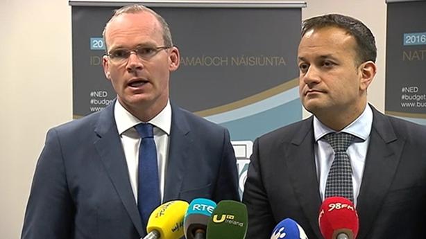Simon Coveney and Leo Varadkar