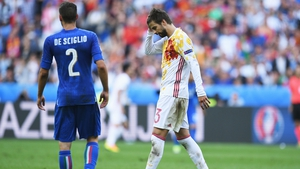 Spain bowed out of Euro 2016 with a 2-0 defeat to Italy