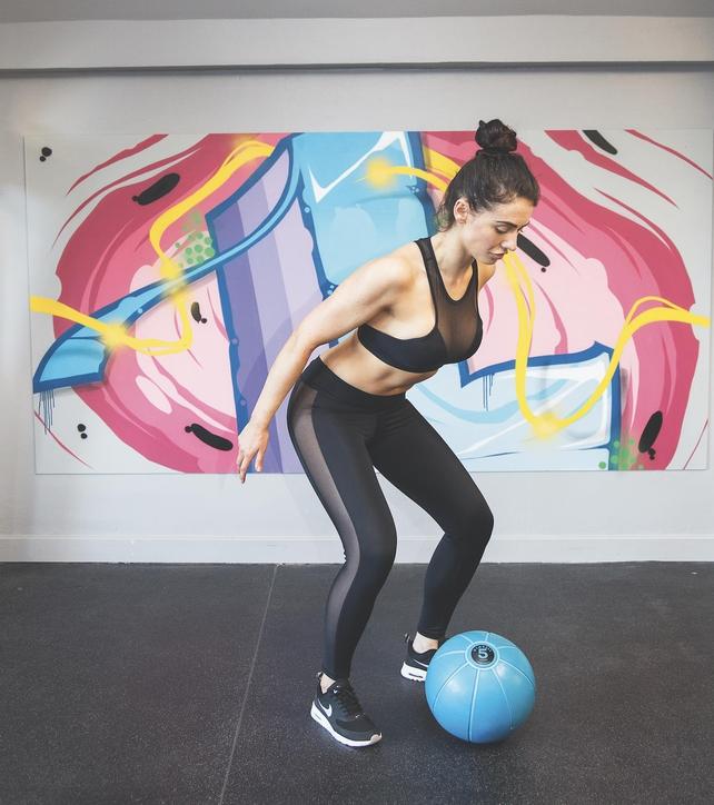 Medicine Ball Slam - Position 2
