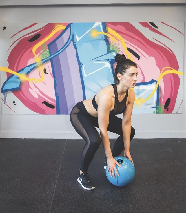 Medicine Ball Slam - Position 3