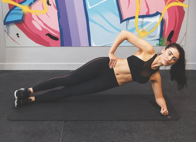 Side Plank - Position 1