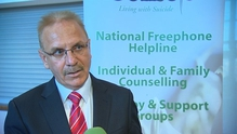 Paul Kelly received a People of the Year Award in 2014 for suicide prevention work with Console