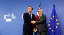 David Cameron said he did not regret holding the referendum