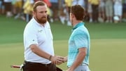 Shane Lowry (L) and Rory McIlroy have pulled out of the Olympic Games