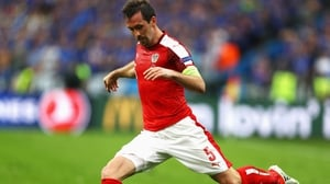 Christian Fuchs: 'I am very proud of the 10 years that I have spent with the national team'