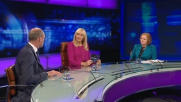 Prime Time Extras: Brexit - Minister Simon Coveney and Ruth Coppinger TD