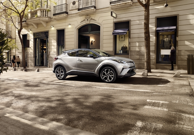 The new Toyota C-HR