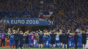 Iceland, and their fans, were one of the star turns of the Euros