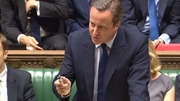 David Cameron warns of choppy waters ahead for the UK economy