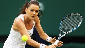 Agnieszka Radwanska easily took her place in the second round