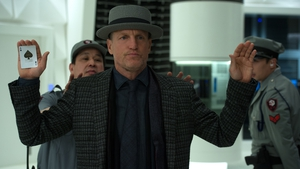 Woody Harrelson is back as Merritt McKinney