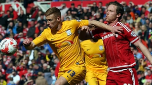 Eoin Doyle (L) spent most of last season on loan at Preston