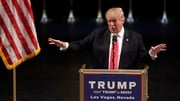 The incident happened during a Donald Trump event in Las Vegas