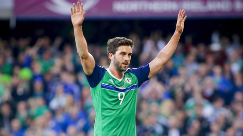 Will Grigg has missed the last two squads