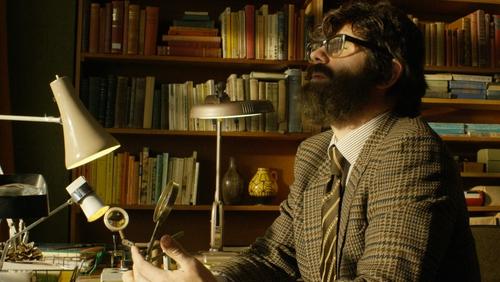 John Hull plaed by actor Dan Skinner in Notes on Blindness.