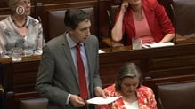 Minister for Health Simon Harris was speaking in the Dáil