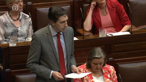 Minister for Health Simon Harris said the bill, as proposed, was unconstitutional