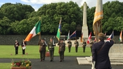 The event in Dublin involved members of the Defence Forces and the Royal British Legion