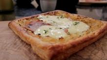 Dublin Cookery School's Onion Prosciutto & Cheese Tart